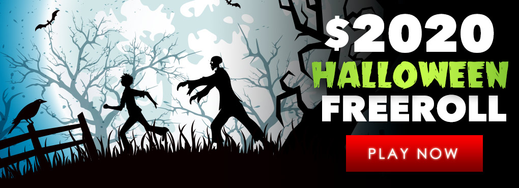 $31 Free Chip HALLOWEEN FREEROLL - Best RTG Casino!
