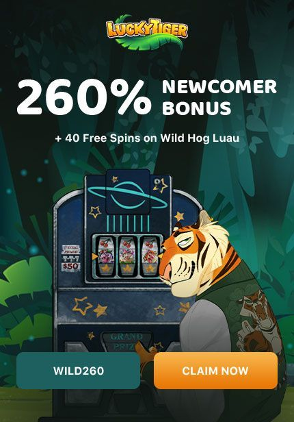 Lucky Tiger Casino No Deposit Bonus Codes